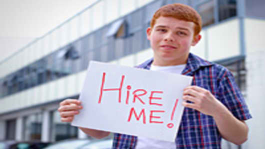 Teenager looking for work