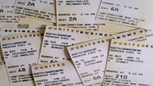 United Airlines tickets