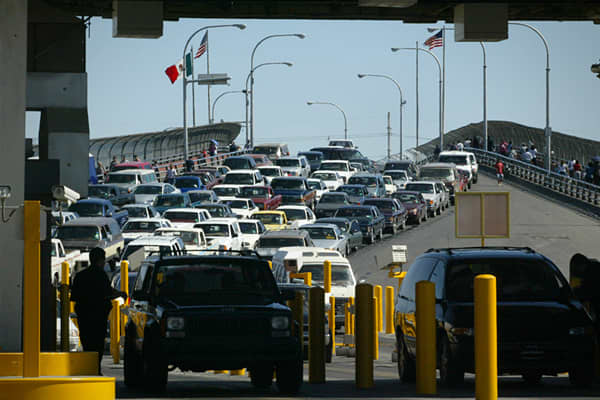 Type: LandImports: $23.9 billionExports: $31.7 billionThe El Paso land border is an important entry point to the U.S. from Mexico, and nearly $16 billion worth of exports were shipped through El Paso port facilities in 2002. Major exports to customers south of the border include computer and electronic parts, transportation equipment pieces, and electrical machinery parts, and appliance components.While El Paso is a major gateway for both export and imports, inbound shipments accounted for 57 pe