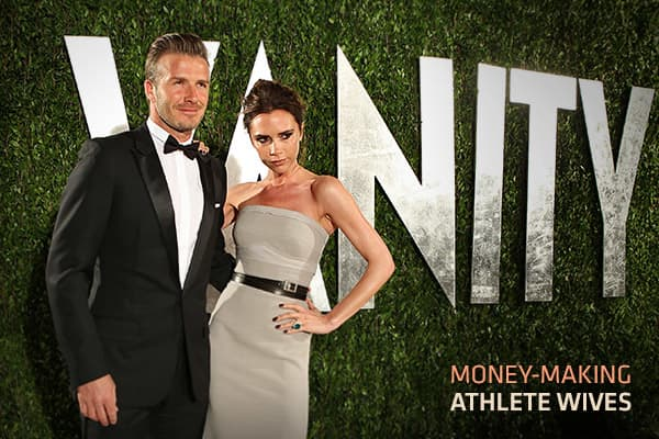 The stereotype about professional athletes' wives is they're not much more than gold-digging arm candy, with few accomplishments of their own. The stereotype no longer applies today, thanks to the efforts of some high-profile women who established themselves well before they married their famous husbands.Many of the wives of today's professional athletes are entrepreneurs and business professionals. Some of them have been so successful in their chosen fields they are as famous as their husbands.