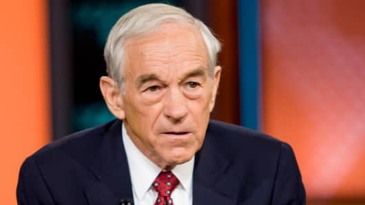 Former Rep. Ron Paul
