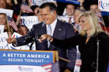 Returning to the state where a January primary victory propelled him to front-runner status, Romney delivered remarks on the day voters in New York, Connecticut, Delaware, Rhode Island and Pennsylvania cast ballots in their state primaries.