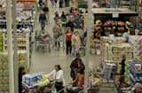 Shoppers at Costco in Nanuet, N.Y.
