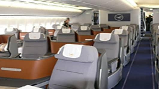 Lufthansa 747-8 seats