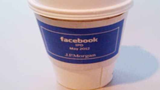 Facebook IPO Coffee cup