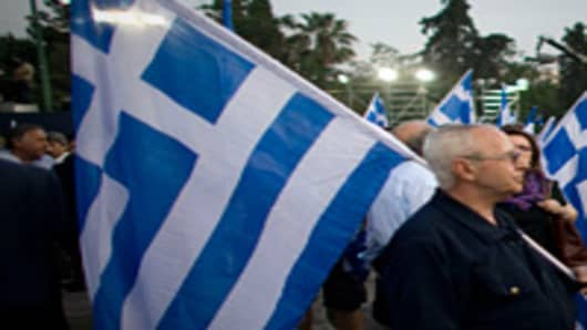 Greece held an election on May 6, 2012