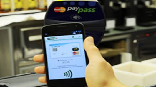 Mastercard launches PayPass at CTIA Wireless 2012.