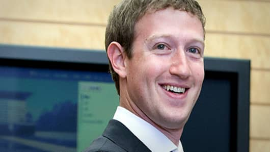 Mark Zuckerberg, Facebook IPO