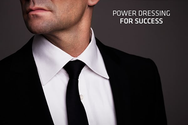 """Dress for the job you want"" goes the old adage. Today's power dresser knows that clothes are an important part of projecting an image of success and confidence in the corporate jungle.""Power dressing is about learning to present yourself in the most dramatic way,"" said Alan Flusser, owner of a New York City-based custom shop for men. ""It's about dressing in a manner that projects importance or success.""The road to haberdashery success is not as clear-cut as in years past, since employees have m"