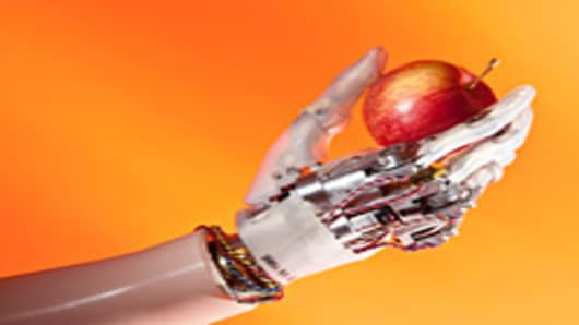 """University of New Brunswick engineers are developing advanced artificial limbs including the """"UNB hand."""""""