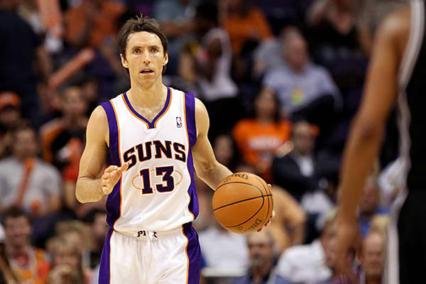 Steve Nash plays for the National Basketball Association's Phoenix Suns. In 2010 he joined forces with Michael Duda, a 12-year veteran on the Deutsch Inc. advertising firm, to found Consigliere, a company that invests in startups.Among are such online retailers as Birchbox, Chloe + Isabel and Kiwi Crate. It has also invested in Stella Service, a customer review aggregator for online retailers.