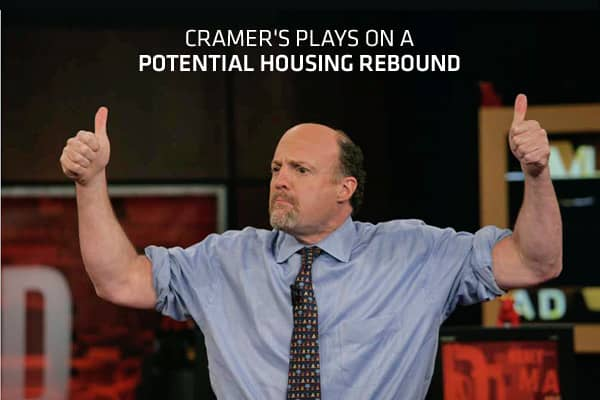 "The U.S. housing market recovery is gaining some traction, ""Mad Money"" host Jim Cramer says, at least if recent data are any indicators.New home sales increased 3.3 percent to a seasonally adjusted 343,000-unit annual rate, the Commerce Department said last week. Compared to April last year, sales were up 9.9 percent.Meanwhile, existing home sales rose 3.4 percent to an annual rate of 4.62 million units in April to their highest in almost two years, the National Association of Realtors reported"