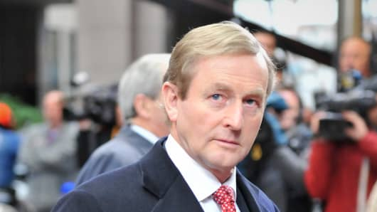 Irish Prime Minister Enda Kenny.