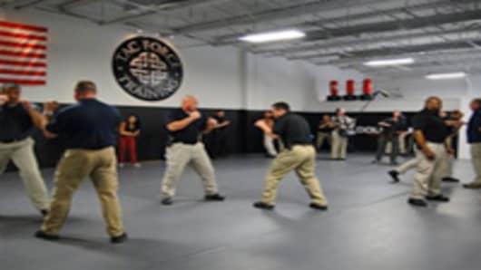 Clark International training session