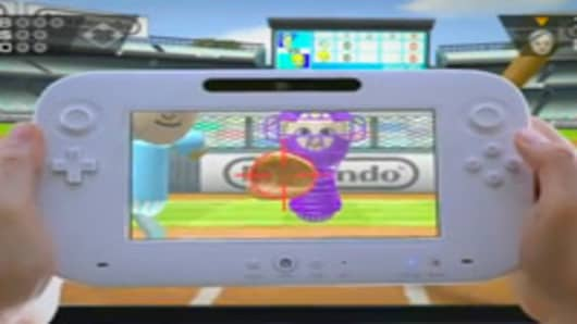 The Nintendo Wii U is a new video game console that was unveiled during Nintendo's press conference at the Electronic Entertainment Expo 2011.