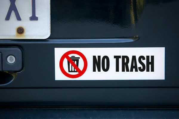 """In Hilton Head, S.C., it is illegal to store trash in your car. Specifically, that section of the code states that it it's unlawful """"to place, leave, dump or permit to accumulate any garbage, rubbish or trash in any building, vehicle and their surrounding areas in the town so that the same shall or may afford food or harborage for rats.""""A violation is considered a public nuisance and is subject to a fine of up to $500 and/or jail time of up to 30 days."""