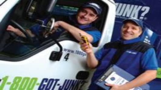 1-800-GOT-JUNK? was one of the companies named by Franchise Business Review as a top low-cost franchise.