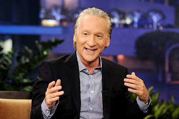 "New York MetsComedian Bill Maher, host of HBO's ""Real Time"" recently  owning a minority share of the Mets baseball team, although he did not specify if he bought a $20 million share of the $240 million total sale, or chipped in with others on a portion thereof. In June 2012, the New York-born, New Jersey-raised television personality visited Citi Field to watch batting practice and discuss his role as a partner. Maher says he brings luck to the team. ""Let's be honest. There was no no-hitter for"