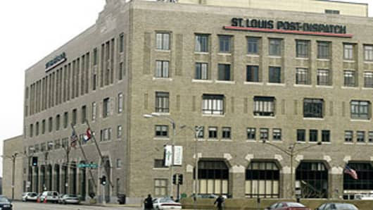 St. Louis Post-Dispatch building in a 2005 file photo