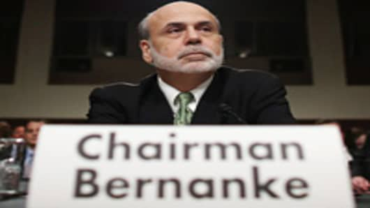 Federal Reserve Board Chairman Ben Bernanke testifies before the Joint Economic Committee on Capitol Hill June 7, 2012 in Washington, DC.