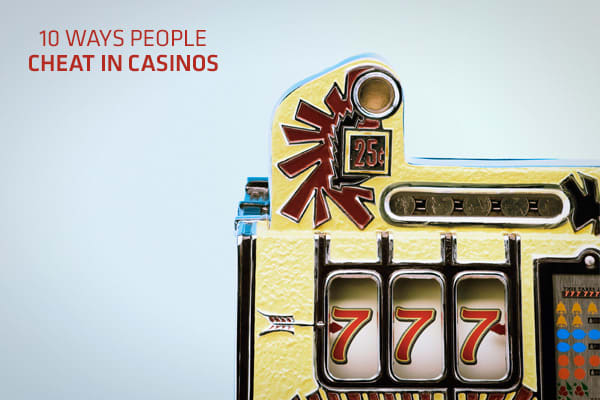 Can casinos cheat players case studies compulsive gambling