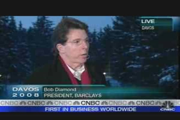 Barclays CEO on Bond Insurer Bailout