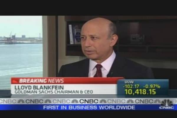 One-on-One with Blankfein