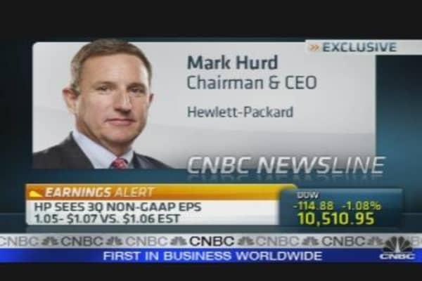 HP CEO on Earnings