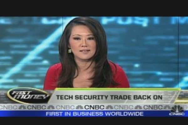 Tech Security Trade Back On