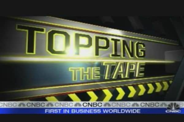 Topping the Tape: Financials