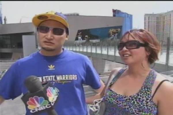 Tourists Talk Vegas
