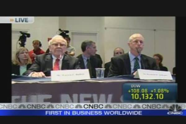 McDaniel, Buffett Testify Before FCIC