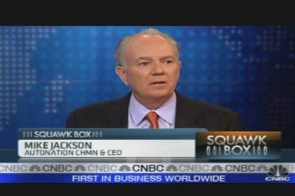 Jackson On Auto Industry