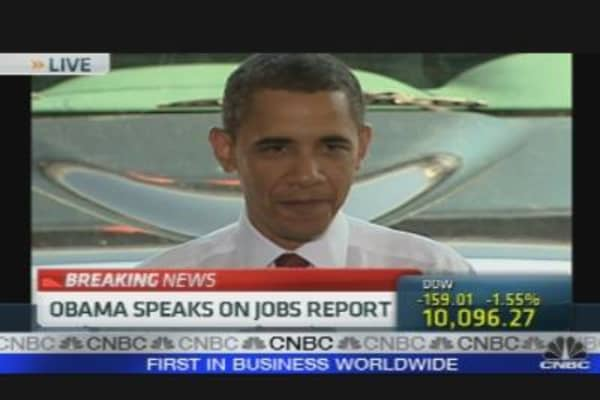 President Obama On Jobs