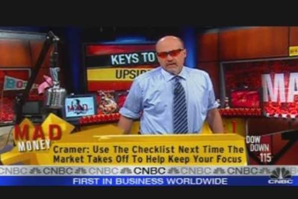 Cramer's Market Breakdown