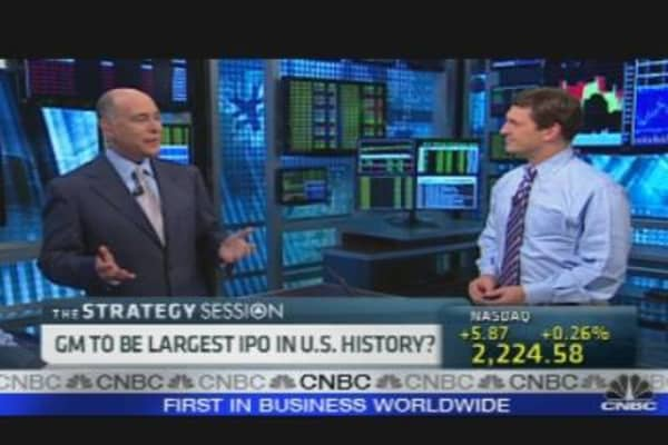 GM IPO Underwriters Revealed