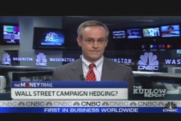 Wall Street Campaign Hedging