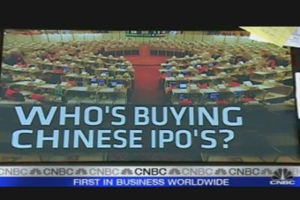 Crazy Chinese IPOs