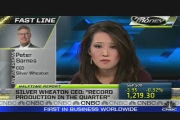 Call to the Floor: Silver Wheaton CEO