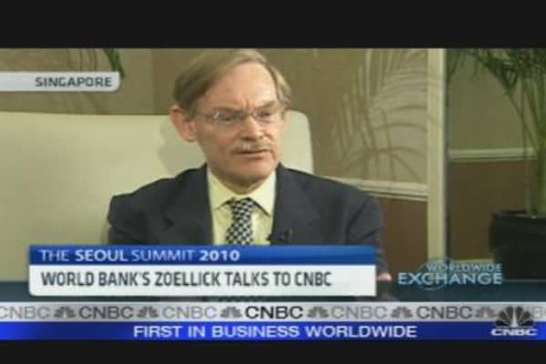 Zoellick: Gold is 'Elephant in Room'