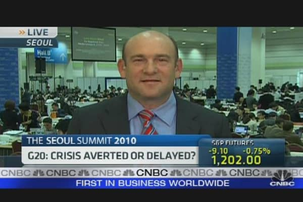 G20: Crisis Averted or Delayed?