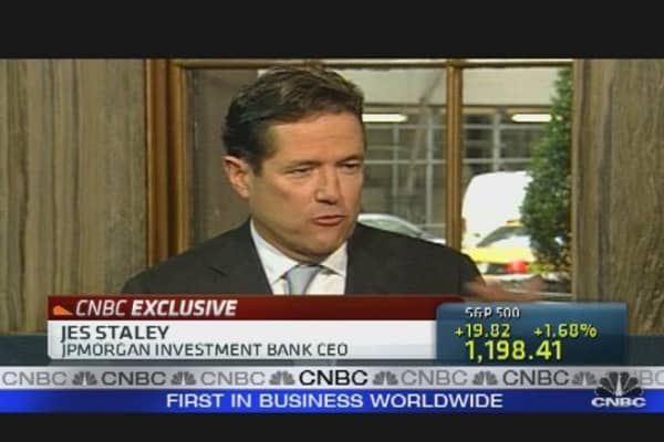 JPM's Staley on Banking