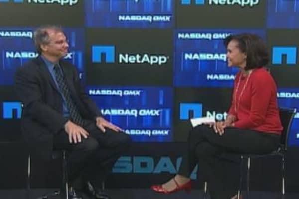 NetApp CEO Thomas Georgens