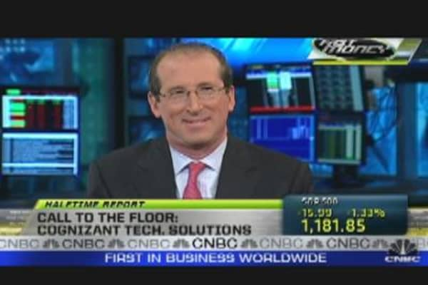 Call To The Floor: Cognizant CFO