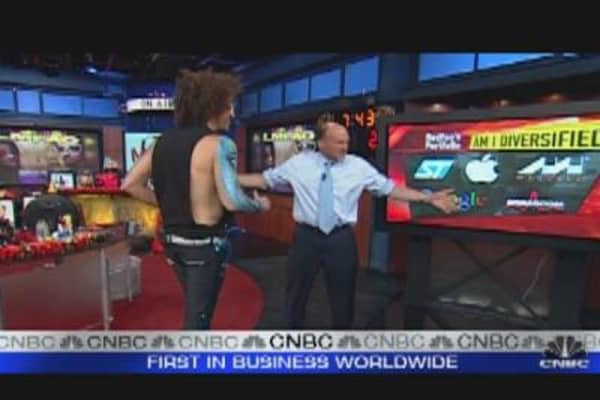 Rapper Redfoo Chats with Cramer