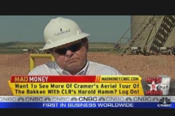 CLR CEO Speaks to Cramer