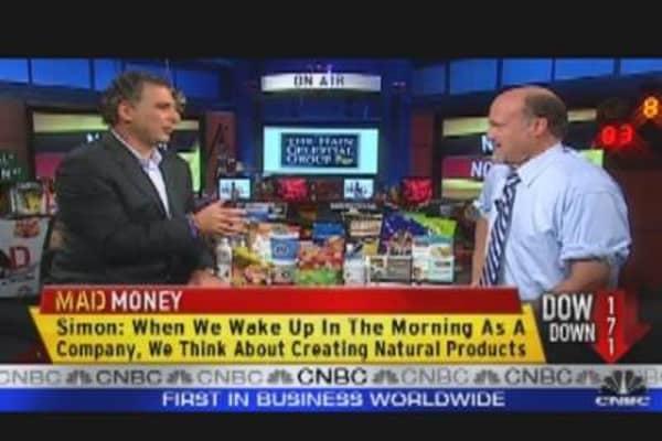 HAIN CEO Speaks to Cramer