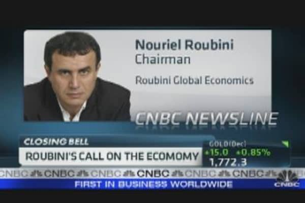 Roubini's Call on the Economy