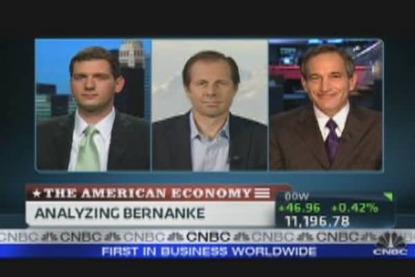 Analyzing Bernanke