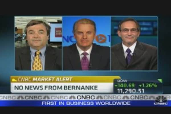 Bernanke: No News